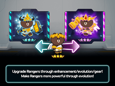 screenshot of LINE Rangers - simple rules, exciting RPG battles! version 6.2.1