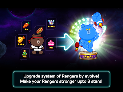 screenshot of LINE Rangers version 2.3.4