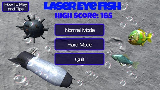 screenshot of Laser Eye Fish version 1.3
