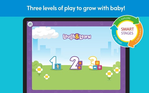 screenshot of Laugh & Learn™ First Words Fun version 1.6.0