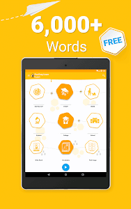 screenshot of Learn English - 6000 Words - FunEasyLearn version 5.7.2