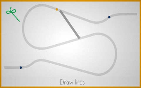 screenshot of Lines - Physics Drawing Puzzle version 1.2.1
