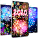 Happy new year 2020 live wallpaper