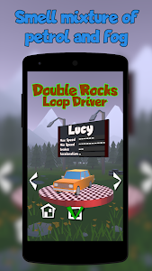 screenshot of Loop Drive in Double Rocks version 1.0