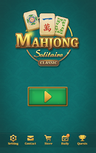screenshot of Mahjong Solitaire: Classic version 1.7.18