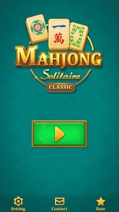 screenshot of Mahjong Solitaire: Classic version 4.0.3