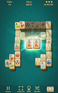 screenshot of Mahjong Solitaire: Classic version 1.6.4