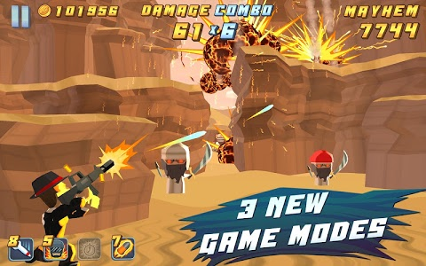 screenshot of Major Mayhem version 8
