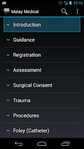 screenshot of Malay Medical Phrases - Works offline version 1.8.7