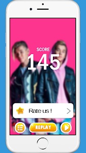 screenshot of Marcus and Martinus Piano Tiles version 1.0