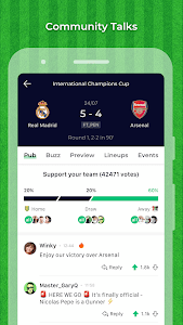 screenshot of Match365 - Live Soccer Scores version 2.3.0