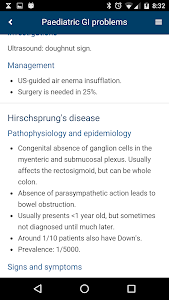 screenshot of Medical FlashNotes version 1.2.4