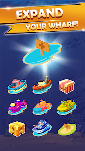 screenshot of Merge Boats – Idle Boat Tycoon version 1.1.0