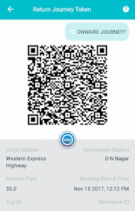 screenshot of Metro ( Delhi & Mumbai) and Bus Tickets & Passes version 6.0.9