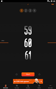 screenshot of Metronome Cifra Club version Varies with device
