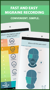 screenshot of Migraine Buddy - The Migraine and Headache tracker version 25.3.1