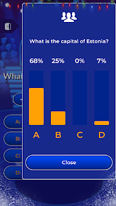 screenshot of Millionaire 2019 - General Knowledge Quiz Online version 1.1.5