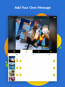 screenshot of MoShow - Slideshow Movie Maker version 1.5.3.0