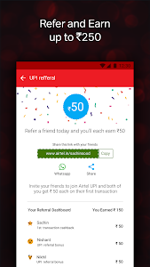 screenshot of Airtel Thanks - Recharge, Bill Pay, Bank, Live TV version 4.4.14.6