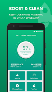 screenshot of Mr Cleaner - Phone cleaner app and booster version 1.1.8