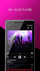 screenshot of Music Player version 1.1.6