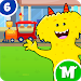 Download My Monster Town - Toy Train Games for Kids 1.1 APK