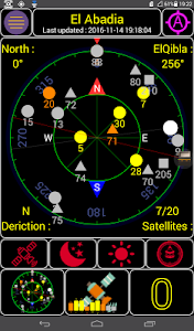 screenshot of My Qibla +5 version 1.2.2