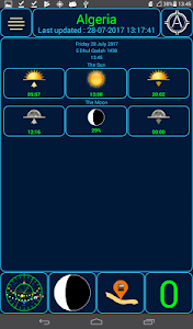 screenshot of Qibla +5 version 3.3.7
