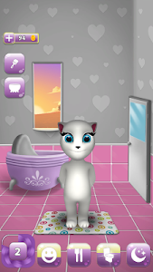 screenshot of My Talking Cat Lily version 1.33.7