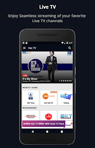 screenshot of NET TV NEPAL version 2.3.2