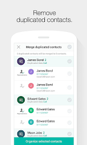 screenshot of Naver Contacts & Dial version 3.0.23