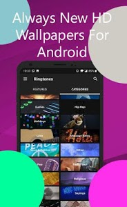 screenshot of New ZEDGE Wallpapers and Ringtones Guide For version 1