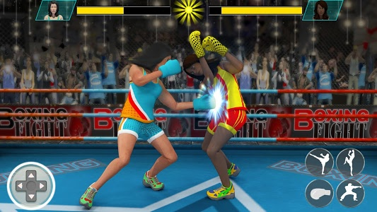 screenshot of Ninja Punch Boxing Warrior: Kung Fu Karate Fighter version 1.8