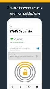 screenshot of Norton Secure VPN – Security & Privacy WiFi Proxy version 3.4.0.11054.d67a4ac
