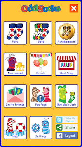 screenshot of Odd Socks version 3.1.1