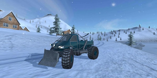 screenshot of Off-Road Winter Edition 4x4 version 2.14