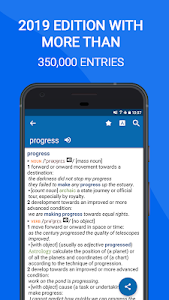 screenshot of Oxford Dictionary of English : Free version 11.3.566