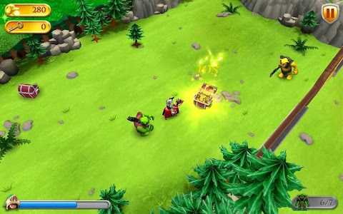 screenshot of PLAYMOBIL Knights version 1.4