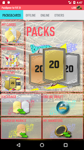 screenshot of Pack Opener for FUT 20 by SMOQ GAMES version 2.64