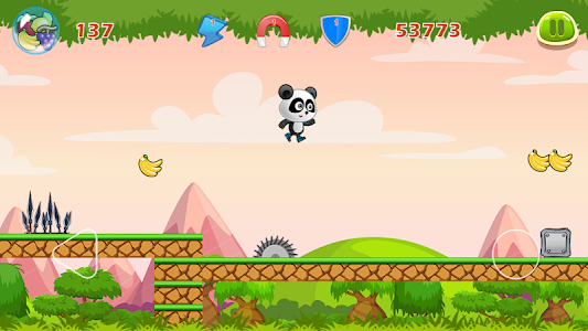 screenshot of Panda Run 3D Free Games version 3.0