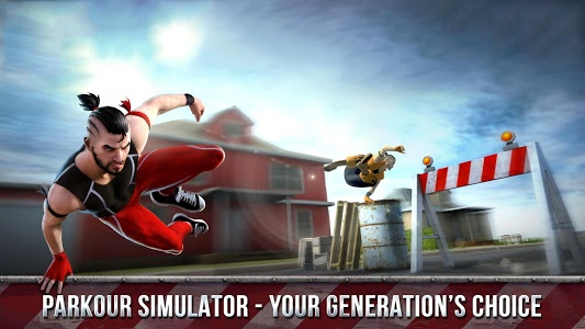 screenshot of Parkour Simulator 3D version 1.0
