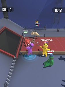 screenshot of Party.io version 1.6