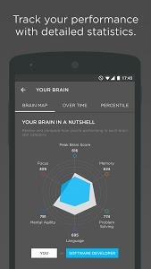 screenshot of Peak - Brain Training version 0.7.2