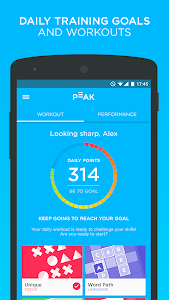 screenshot of Peak - Brain Games version 1.20.1