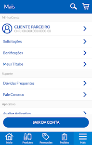 screenshot of Parceiro Ambev version 5.3.0