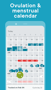 screenshot of Period Tracker Clue - Ovulation and Cycle Calendar version 16.0