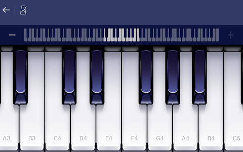 screenshot of Piano - Play & Learn Free songs. version 1.4.435