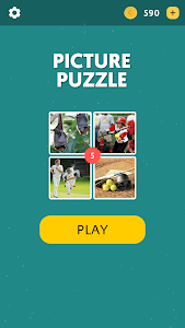 screenshot of Picture Puzzle - 1 Word version 1.0.3