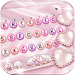 Download Pink Pearl Luxury Heart Keyboard Theme 1.0 APK