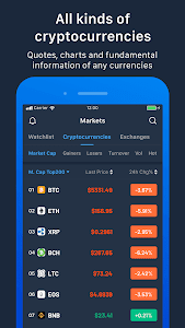 screenshot of Pivot - Bitcoin,BTC,ETH,BCH,LTC,EOS,Cryptocurrency version 2.0.6